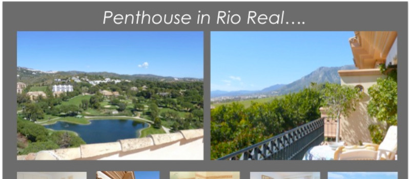 4 Bedroom Penthouse For Sale in Rio Real, Marbella