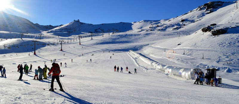 Sierra Nevada – skiing within a 2 hour drive from Marbella!